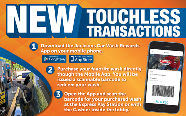 Special Jacksons Touchless Transactions