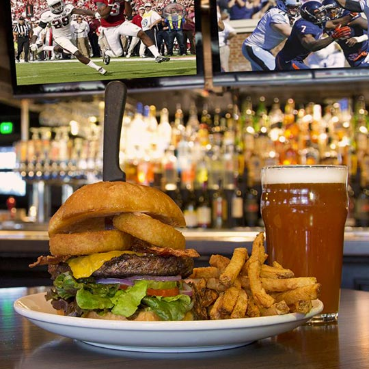 Thirsty Lion Sports Draft Beer Handcrafted Food Watch The Game Tempe