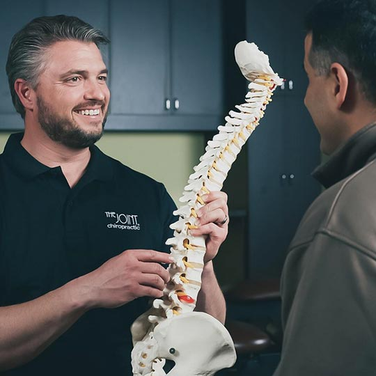 The Joint Chiropractic Chiropractor Services Health Back Pain