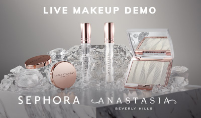 Event Sephora Live Makeup Demo